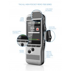 Philips Digital Pocket Memo DPM7700 startpakke