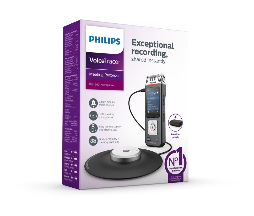 Philips lanserer nytt modellprogram av VoiceTracer